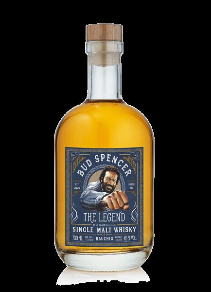 Bud Spencer - The Legend rauchig Single Malt Whisky 49% - 0,7l
