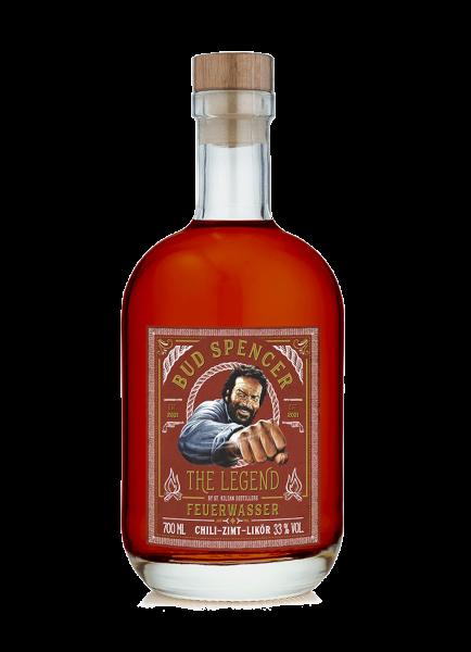 Bud Spencer - The Legend Feuerwasser Chili-Zimt-Likör 33% - 0,7l