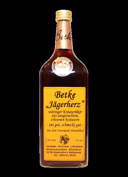Jägerherz Kräuterlikör 35% - 0,7l