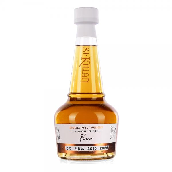 "Signature Edition: ""Four"" Single Malt Whisky 48% - 0,5l"