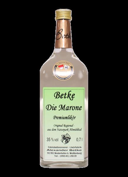 Die Marone Premium Likör 35% - 0,7l