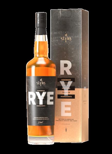 SLYRS Bavarian RYE Whisky 41% - 0,7l