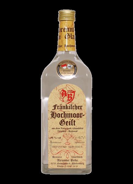 Fränkischer Hochmoorgeist 56% - 0,7l