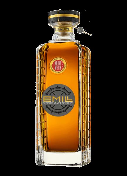 EMILL Kraftwerk Single Malt Whisky 58,7% - 0,7l