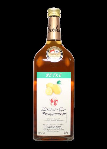 Zitronen-Eis Premiumlikör 35% - 0,7l