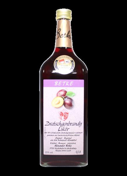 Zwetschgen - Brandy Likör 25% - 0,7l