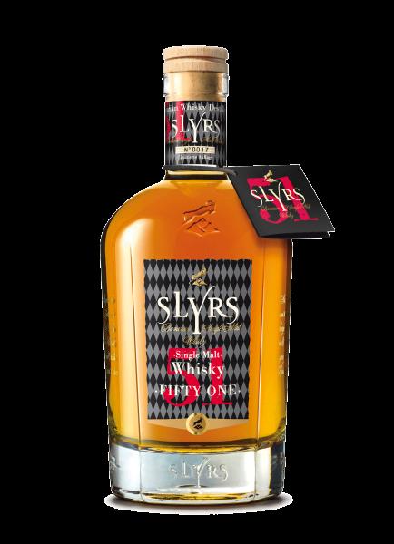 SLYRS Single Malt Whisky Fifty One 51% - 0,7l